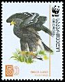 Cl: Greater Spotted Eagle (Aquila clanga)(Repeat for this country)  SG 511 (2007) 0