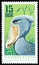 Cl: Shoebill (Balaeniceps rex) <<Schuhschnabel>> (Out of range)  SG 1339 (1970) 55