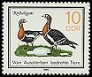 Cl: Red-breasted Goose (Branta ruficollis) <<Rothalsgans>>  SG 2663 (1985) 15 [4/3]