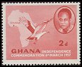 Cl: Palm-nut Vulture (Gypohierax angolensis)(Repeat for this country)  SG 166 (1957) 10 [3/11]