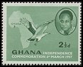 Cl: Palm-nut Vulture (Gypohierax angolensis)(Repeat for this country)  SG 167 (1957) 10 [3/11]