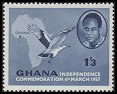 Cl: Palm-nut Vulture (Gypohierax angolensis)(Repeat for this country)  SG 169 (1957) 15 [3/11]