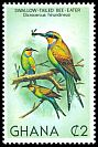Cl: Swallow-tailed Bee-eater (Merops hirundineus) SG 941 (1981) 150