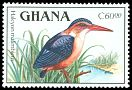 Cl: African Pygmy-Kingfisher (Ispidina picta) SG 1392 (1989) 125