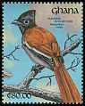 Cl: African Paradise-Flycatcher (Terpsiphone viridis) SG 1584 (1991)