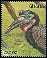 Cl: Abyssinian Ground-Hornbill (Bucorvus abyssinicus) SG 1597 (1991)