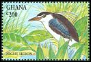 Cl: Black-crowned Night-Heron (Nycticorax nycticorax) SG 1996 (1994) 60