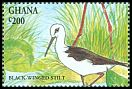 Cl: Black-winged Stilt (Himantopus himantopus)(Repeat for this country)  SG 1997 (1994) 60
