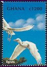 Cl: Cattle Egret (Bubulcus ibis)(Repeat for this country)  SG 2979 (2000) 80