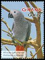 Cl: Grey Parrot (Psittacus erithacus)(Repeat for this country)  SG 3792e (2012)  [11/8]