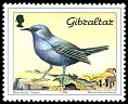 Cl: Blue Rock-Thrush (Monticola solitarius)(Repeat for this country)  SG 599 (1988) 275