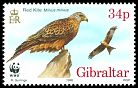Cl: Red Kite (Milvus milvus)(Repeat for this country)  SG 786 (1996) 160