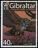 Cl: Eurasian Eagle-Owl (Bubo bubo)(Repeat for this country)  SG 1221 (2008)  [4/41]