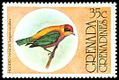 Cl: Lesser Antillean Tanager (Tangara cucullata)(Out of range)  SG 150 (1976) 125