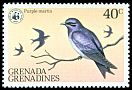 Cl: Caribbean Martin (Progne dominicensis) SG 298 (1978)