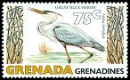 Cl: Great Blue Heron (Ardea herodias)(Out of range)  SG 350 (1979) 85