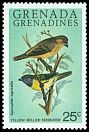 Cl: Yellow-bellied Seedeater (Sporophila nigricollis)(Out of range)  SG 382 (1980) 50