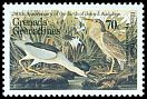 Cl: Black-crowned Night-Heron (Nycticorax nycticorax)(Out of range)  SG 737 (1985) 250