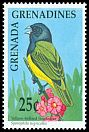 Cl: Yellow-bellied Seedeater (Sporophila nigricollis)(Out of range)  SG 1267 (1990) 30
