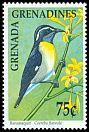 Cl: Bananaquit (Coereba flaveola)(Repeat for this country)  SG 1270 (1990) 70