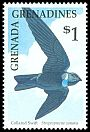Cl: White-collared Swift (Streptoprocne zonaris)(Out of range and no other stamp)  SG 1271 (1990) 95