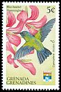 Cl: Blue-headed Hummingbird (Cyanophaia bicolor)(Out of range)  SG 1501 (1992) 10