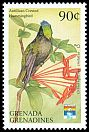 Cl: Antillean Crested Hummingbird (Orthorhyncus cristatus)(Repeat for this country)  SG 1505 (1992)