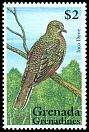 Cl: Inca Dove (Columbina inca)(Out of range and no other stamp)  SG 1870 (1995) 140