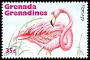 Cl: Caribbean Flamingo (Phoenicopterus ruber)(Out of range)  SG 2002 (1995)