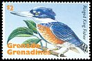 Cl: Ringed Kingfisher (Ceryle torquatus)(Out of range)  SG 2013 (1995) 85