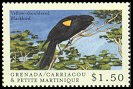 Cl: Yellow-shouldered Blackbird (Agelaius xanthomus)(Out of range and no other stamp)  SG 2877 (2000)