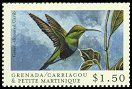 Cl: Green-throated Carib (Eulampis holosericeus)(Repeat for this country)  SG 2879 (2000)