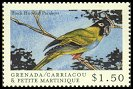 Cl: Nanday Parakeet (Nandayus nenday)(Out of range and no other stamp)  SG 2880 (2000)