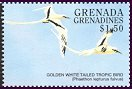 Cl: White-tailed Tropicbird (Phaethon lepturus)(Repeat for this country)  SG 2589 (1998)