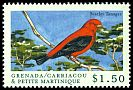 Cl: Scarlet Tanager (Piranga olivacea)(Out of range)  SG 2881 (2000)