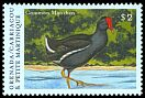 Cl: Common Moorhen (Gallinula chloropus)(Out of range)  SG 2883 (2000)