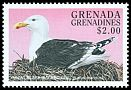 Cl: Great Black-backed Gull (Larus marinus)(Out of range)  SG 2594 (1998)