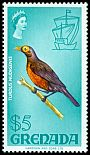 Cl: Bare-eyed Thrush (Turdus nudigenis) SG 321 (1968) 450