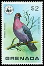 Cl: Scaly-naped Pigeon (Patagioenas squamosa) SG 928 (1978)