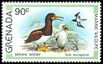 Cl: Brown Booby (Sula leucogaster) SG 1014 (1979) 200