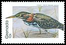 Cl: Green Heron (Butorides virescens) SG 1995 (1989)