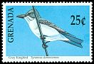 Cl: Grey Kingbird (Tyrannus dominicensis) SG 2157 (1990)