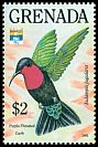 Cl: Purple-throated Carib (Eulampis jugularis) SG 2401 (1992)