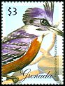 Cl: Ringed Kingfisher (Ceryle torquatus)(Out of range)  SG 5417b (2009)  [6/8]
