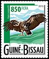 Cl: Rueppell's Griffon (Gyps rueppellii)(Repeat for this country) (I do not have this stamp)  new (2015)