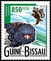 Cl: Bateleur (Terathopius ecaudatus)(Repeat for this country) (I do not have this stamp)  new (2015)
