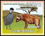 Cl: Crested Guineafowl (Guttera pucherani)(Repeat for this country)  new (2008)  [6/0]