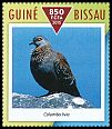 Cl: Speckled Pigeon (Columba guinea)(I do not have this stamp)  new (2015)