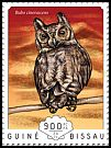 Cl: Greyish Eagle-Owl (Bubo cinerascens)(I do not have this stamp)  new (2014)