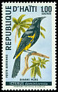 Cl: Greater Antillean Oriole (Icterus dominicensis) <<Banane mûre>>  SG 1133 (1969) 250
